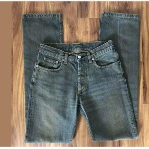 Helmut Lang Jeans Dark Wash High Waist 26